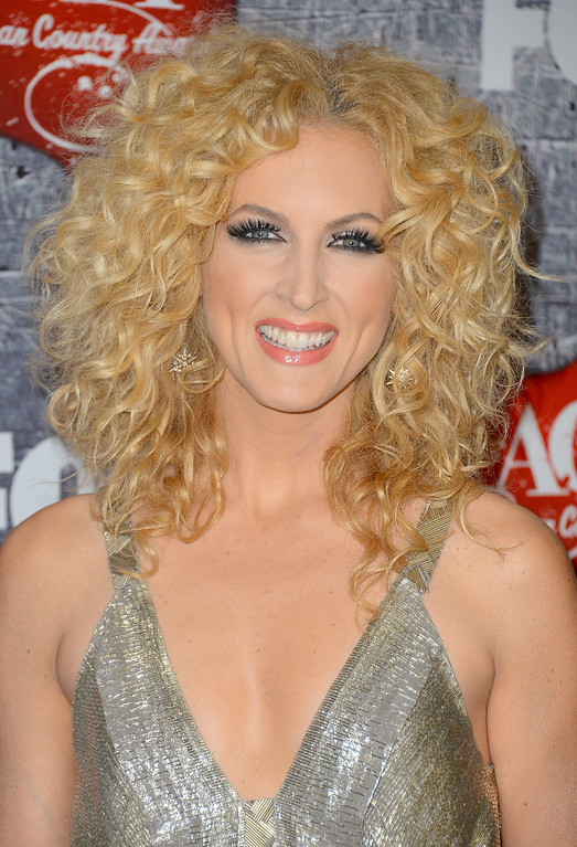 . LAS VEGAS, NV - DECEMBER 10:  Singer Kimberly Schlapman of Little Big Town arrives at the 2012 American Country Awards at the Mandalay Bay Events Center on December 10, 2012 in Las Vegas, Nevada.  (Photo by Frazer Harrison/Getty Images)