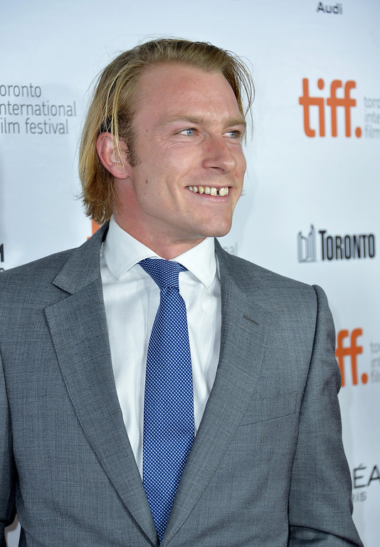 """. Tom Hunt attends the \""""Rush\"""" premiere during the 2013 Toronto International Film Festival at Roy Thomson Hall on September 8, 2013 in Toronto, Canada.  (Photo by Alberto E. Rodriguez/Getty Images)"""