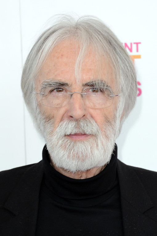 . SANTA MONICA, CA - FEBRUARY 23:  Filmmaker Michael Haneke attends the 2013 Film Independent Spirit Awards at Santa Monica Beach on February 23, 2013 in Santa Monica, California.  (Photo by Jason Merritt/Getty Images)