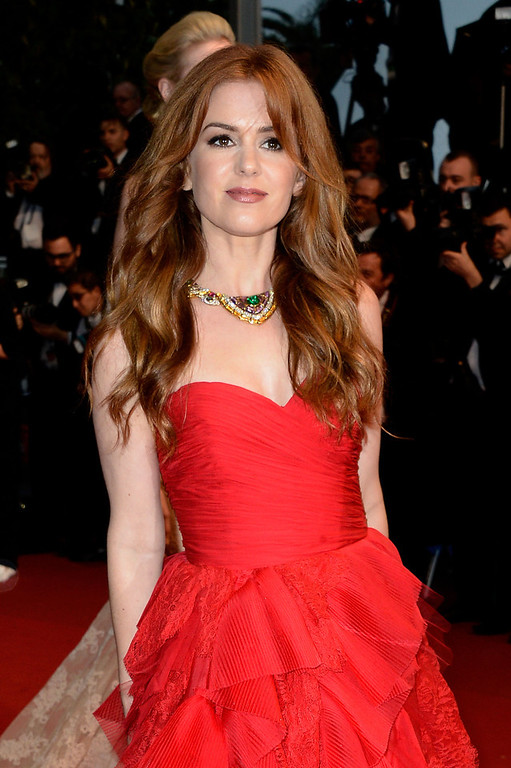 . Isla Fisher attends the Opening Ceremony and \'The Great Gatsby\' Premiere during the 66th Annual Cannes Film Festival at the Theatre Lumiere on May 15, 2013 in Cannes, France.  (Photo by Pascal Le Segretain/Getty Images)