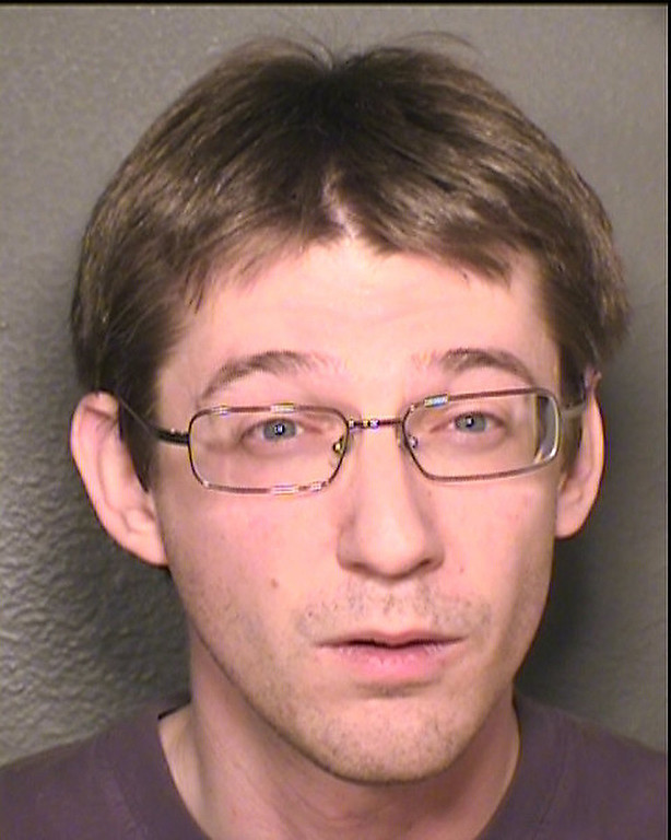 . Gordon Schumacher  Photo of the person arrested by Erie Police dept for placing web cam in neighbor�s house.