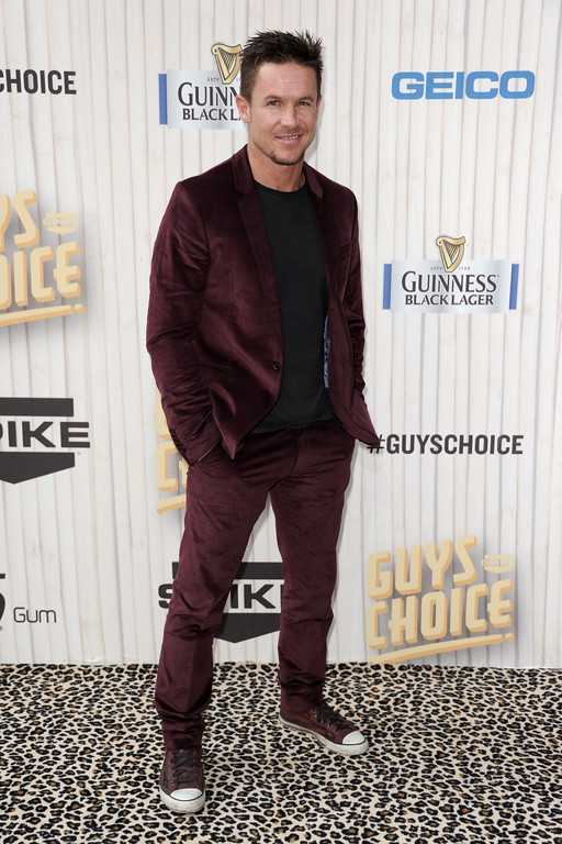 . Felix Baumgartner arrives at Spike TV\'s Guys Choice Awards at Sony Pictures Studios on Saturday June 8, 2013 , in Culver City, Calif.(Photo by Richard Shotwell/Invision/AP)