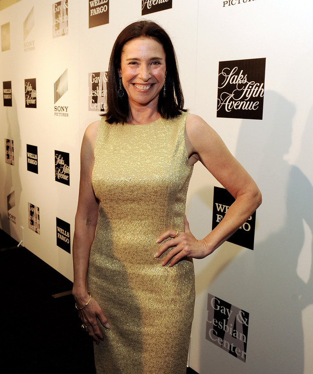 """. Actress Mimi Rogers arrives at \""""An Evening\"""" benifiting The L.A. Gay & Lesbian Center at the Beverly Wilshire Hotel on March 21, 2013 in Beverly Hills, California.  (Photo by Kevin Winter/Getty Images)"""