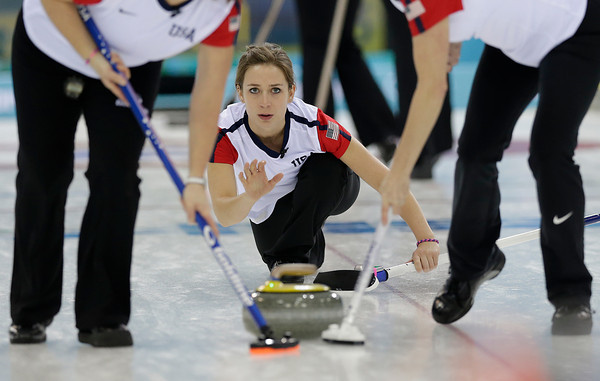 PHOTOS: Curling round robin sessions at Sochi 2014 Winter Olympics