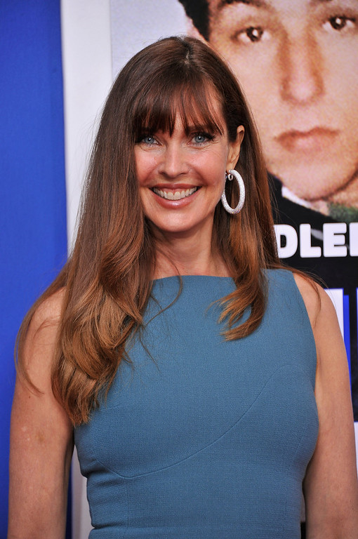 ". Model Carol Alt attends the ""Grown Ups 2\"" New York Premiere at AMC Lincoln Square Theater on July 10, 2013 in New York City.  (Photo by Stephen Lovekin/Getty Images)"