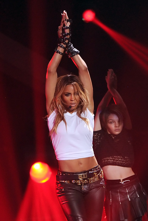 ". LOS ANGELES, CA - DECEMBER 16:  Singer Ciara performs onstage during ""VH1 Divas\"" 2012 at The Shrine Auditorium on December 16, 2012 in Los Angeles, California.  (Photo by Kevin Winter/Getty Images)"