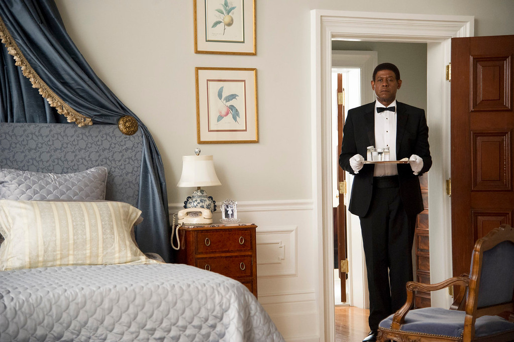 """. Forest Whitaker as Cecil Gaines in a scene from \""""Lee Daniels\' The Butler.\"""" (AP Photo/The Weinstein Company, Anne Marie Fox)"""