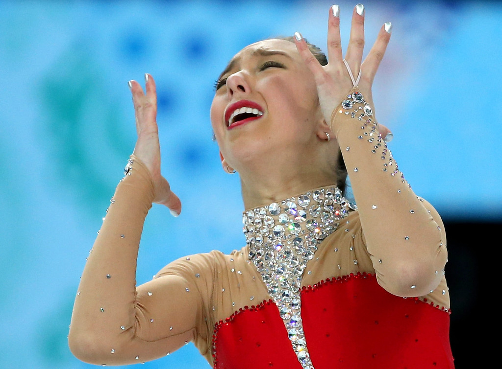 . Brooklee Han of Australia performs in the Women\'s Free Skating Figure Skating event at Iceberg Skating Palace during the Sochi 2014 Olympic Games, Sochi, Russia, 20 February 2014.  EPA/HOW HWEE YOUNG