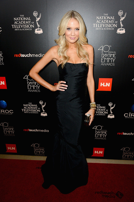 . Actress Melissa Ordway attends The 40th Annual Daytime Emmy Awards at The Beverly Hilton Hotel on June 16, 2013 in Beverly Hills, California.  (Photo by Mark Davis/Getty Images)
