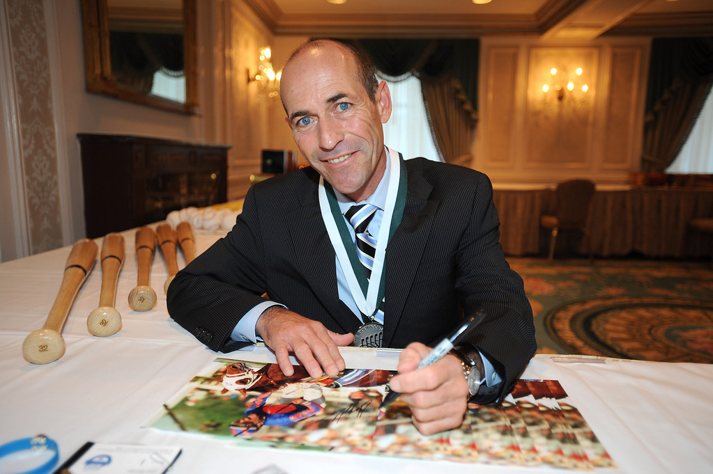 . Legend and Jockey Gary Stevens attends the 28th Annual Great Sports Legends Dinner to Benefit The Buoniconti Fund To Cure Paralysis at The Waldorf Astoria on September 30, 2013 in New York City.  (Photo by Brad Barket/Getty Images for The Buoniconti Fund To Cure Paralysis)