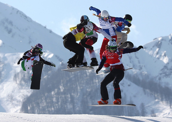 PHOTOS: Women's Snowboard Cross at 2014 Sochi Winter Olympics