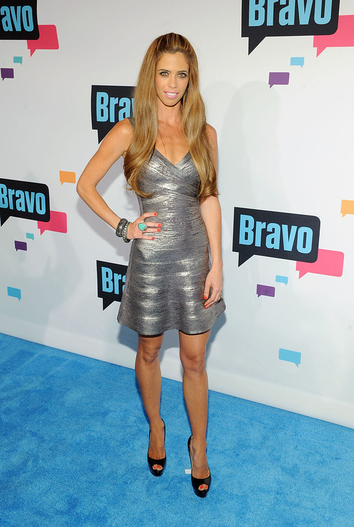 . Lydia McLaughlin attends the 2013 Bravo New York Upfront at Pillars 37 Studios on April 3, 2013 in New York City.  (Photo by Craig Barritt/Getty Images)