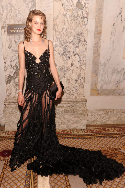 . NEW YORK, NY - JUNE 13:  Model Lindsey Wixson attends the 4th Annual amfAR Inspiration Gala New York at The Plaza Hotel on June 13, 2013 in New York City.  (Photo by Jamie McCarthy/Getty Images)