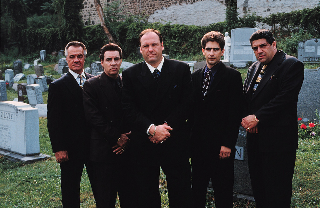 . Exploring The Life Of A Modern-Day Mob Boss, The Exclusive New Series The Sopranos Combines Drama And Comic Irony.  Pictured: Tony Sirico, Steve Van Zandt, James Gandolfini, Michael Imperioli And Vincent Pastore.  (Photo By Getty Images)