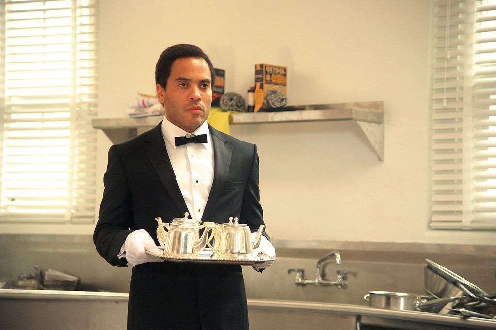 """. Lenny Kravitz as James Holloway in a scene from \""""Lee Daniels\' The Butler.\"""" (AP Photo/The Weinstein Company, Anne Marie Fox)"""