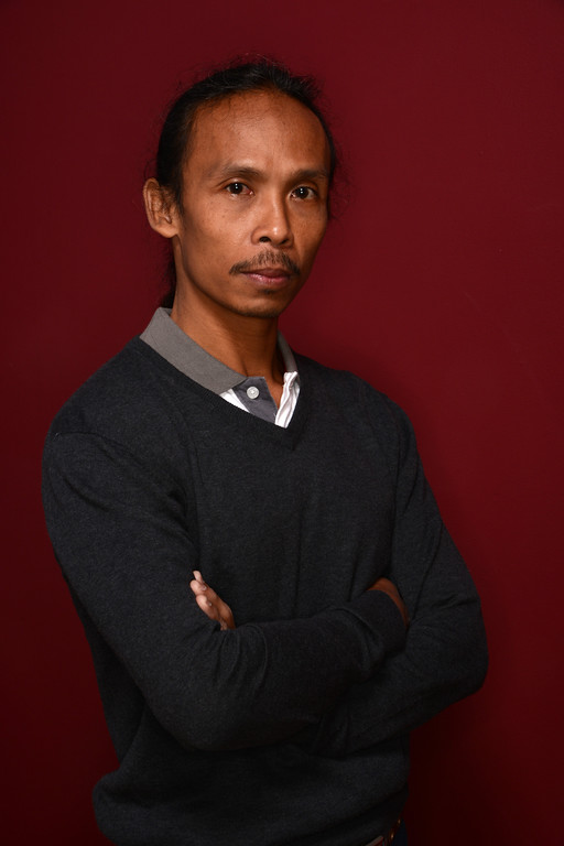 . Actor Yayan Ruhian poses for a portrait during the 2014 Sundance Film Festival at the Getty Images Portrait Studio at the Village At The Lift on January 22, 2014 in Park City, Utah.  (Photo by Larry Busacca/Getty Images)