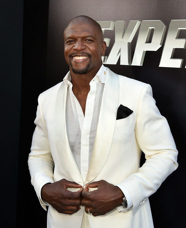 """. Actor Terry Crews attends the premiere of Lionsgate Films\' \""""The Expendables 3\"""" at TCL Chinese Theatre on August 11, 2014 in Hollywood, California.  (Photo by Kevin Winter/Getty Images)"""
