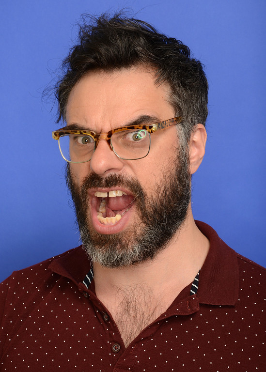 . Filmmaker Jemaine Clement poses for a portrait during the 2014 Sundance Film Festival at the WireImage Portrait Studio at the Village At The Lift on January 20, 2014 in Park City, Utah.  (Photo by Larry Busacca/Getty Images)