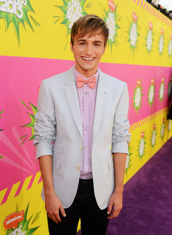 . LOS ANGELES, CA - MARCH 23:  Actor Lucas Cruikshank arrives at Nickelodeon\'s 26th Annual Kids\' Choice Awards at USC Galen Center on March 23, 2013 in Los Angeles, California.  (Photo by Mark Davis/Getty Images for KCA)