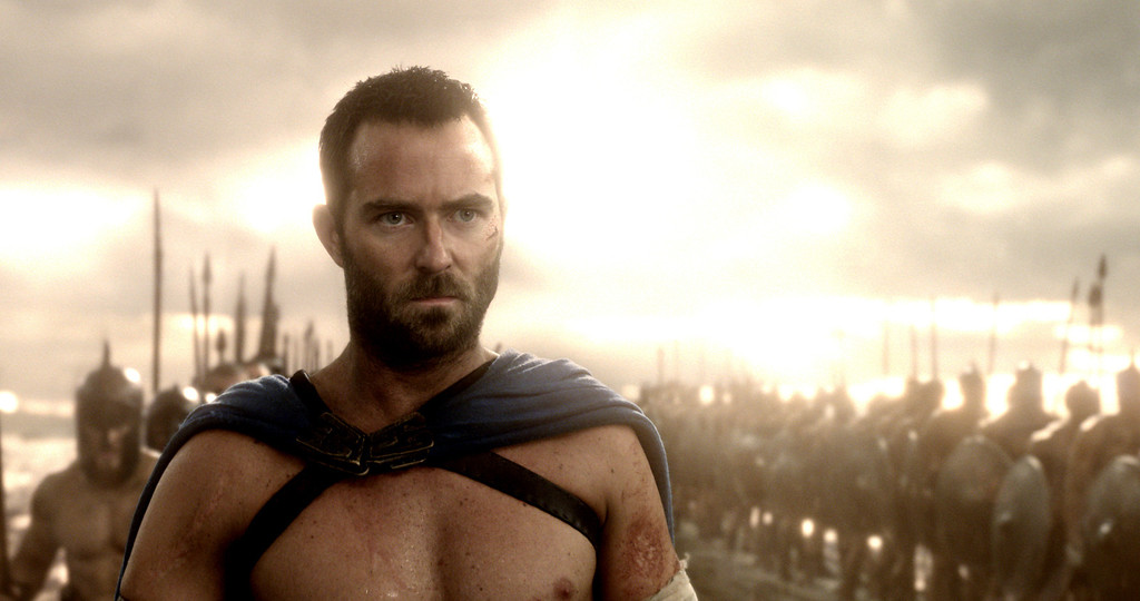 ". SULLIVAN STAPLETON as Themistokles in Warner Bros. Pictures� and Legendary Pictures� action adventure � ""300: Rise Of An Empire,\"" a Warner Bros. Pictures release."