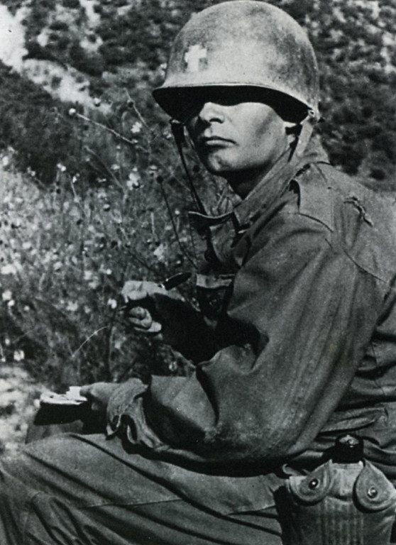 . Father Emil Kapaun, seen in Korea in 1950, will be awarded the Medal of Honor on April 11, 2013. (Col. R.A. Skeehan/Wichita Eagle/MCT)