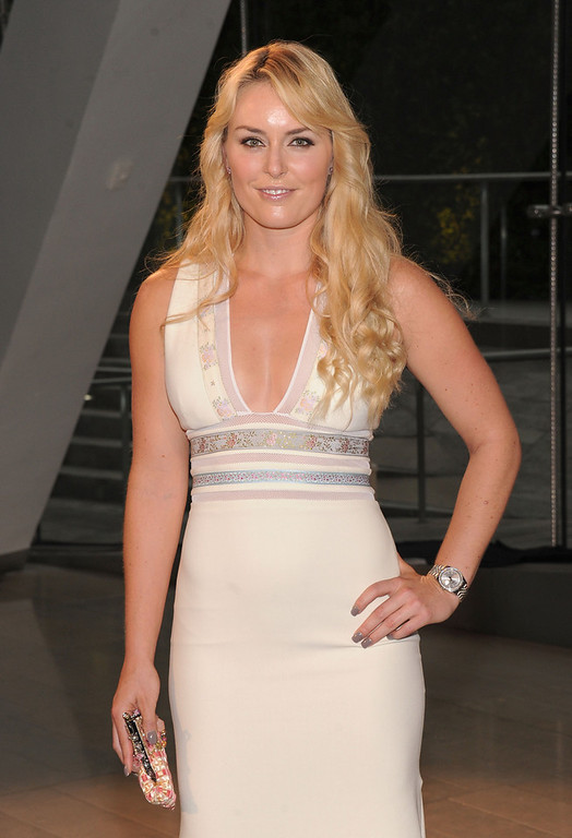. Lindsey Vonn attends 2013 CFDA FASHION AWARDS Underwritten By Swarovski - Red Carpet Arrivals at Lincoln Center on June 3, 2013 in New York City.  (Photo by Jamie McCarthy/Getty Images)