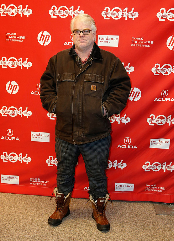 ". US actor Philip Seymour Hoffman arrives for the premiere of ""God\'s Pocket\"" during the 2014 Sundance Film Festival in Park City, Utah, USA, 17 January 2014. The festival runs from 16 to 26 January.  EPA/George Frey"