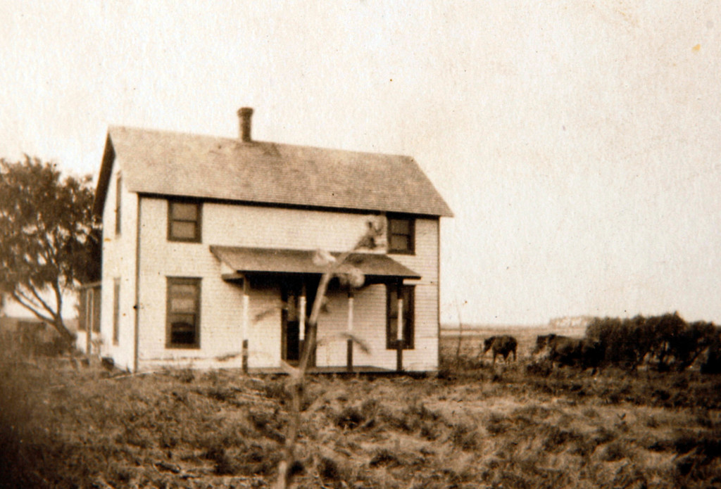. The Kapaun family home is seen near Pilsen, Kansas.  (Courtesy of Helen Kapaun/Wichita Eagle/MCT)