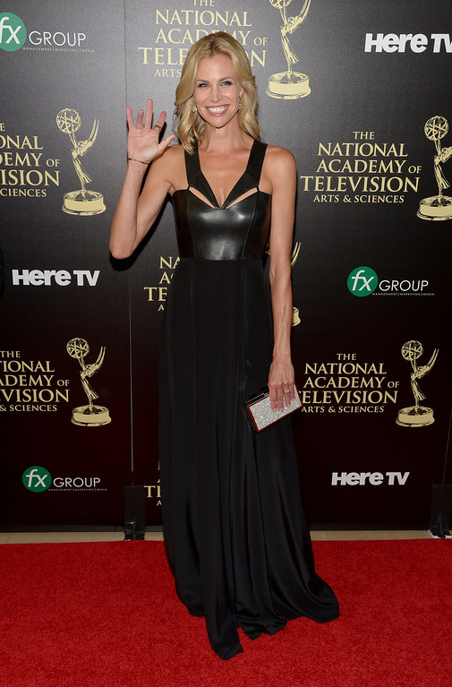 . TV personality Brooke Burns attends The 41st Annual Daytime Emmy Awards at The Beverly Hilton Hotel on June 22, 2014 in Beverly Hills, California.  (Photo by Jason Kempin/Getty Images)