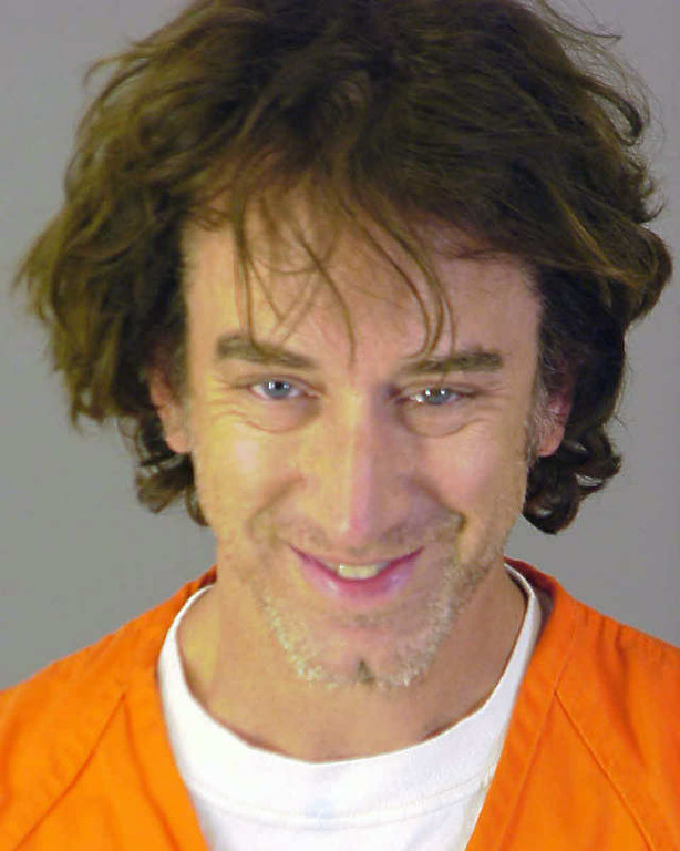 . In this July 16, 2008 file photo released by Riverside County Calif., Sheriff\'s Department, comedian Andy Dick is shown after being arrested for suspicion of drug possession and sexual battery in Murrieta, Calif. (AP Photo/Riverside County Sheriff\'s Department, file)