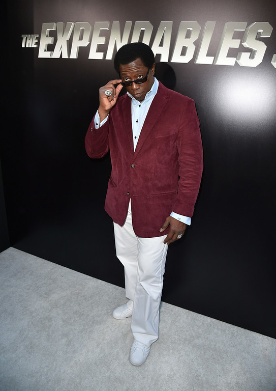""". Actor Wesley Snipes attends the premiere of Lionsgate Films\' \""""The Expendables 3\"""" at TCL Chinese Theatre on August 11, 2014 in Hollywood, California.  (Photo by Kevin Winter/Getty Images)"""