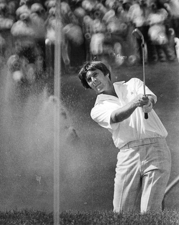 . Andy North during the 1978 U.S. Open at Cherry Hills Country Club. John J. Sunderland, The Denver Post