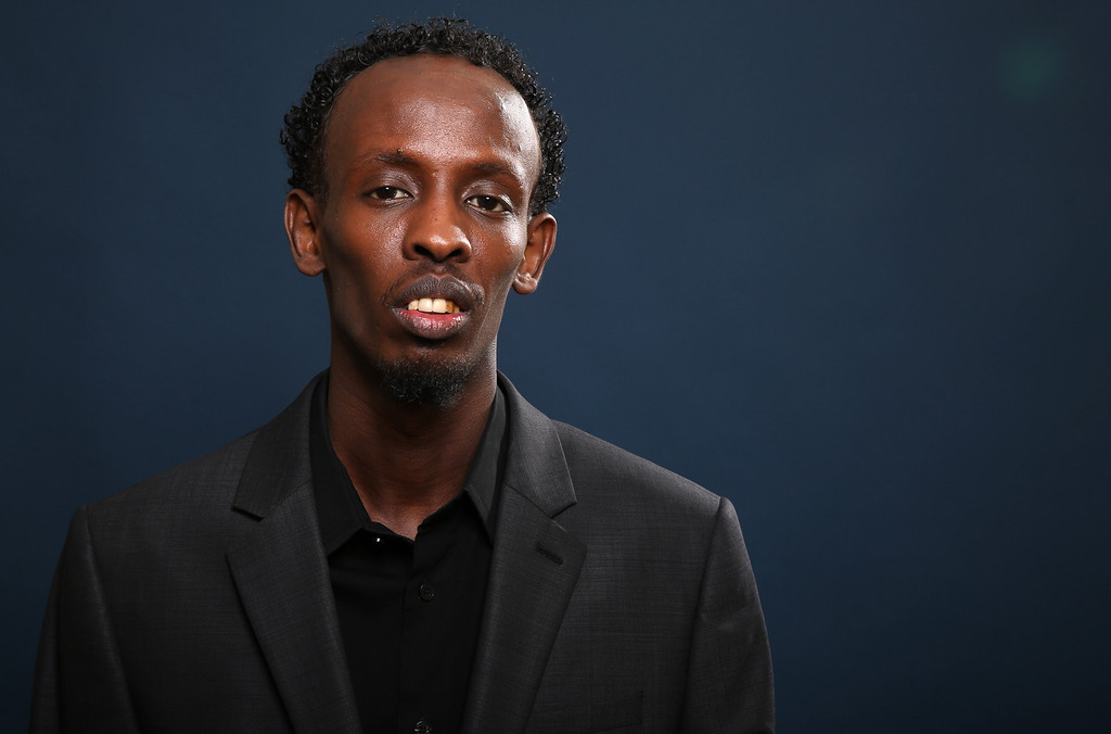 ". 2014 Academy Award Nominee for Best Actor in a Supporting Role: Barkhad Abdi in ""Captain Phillips.\"" (Photo by Matt Sayles/Invision/AP)"