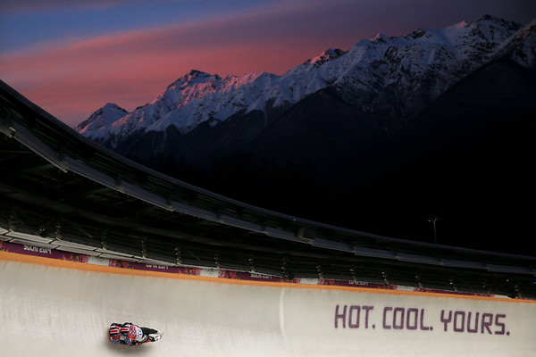 PHOTOS: Men's Luge Doubles at Sochi 2014 Winter Olympics