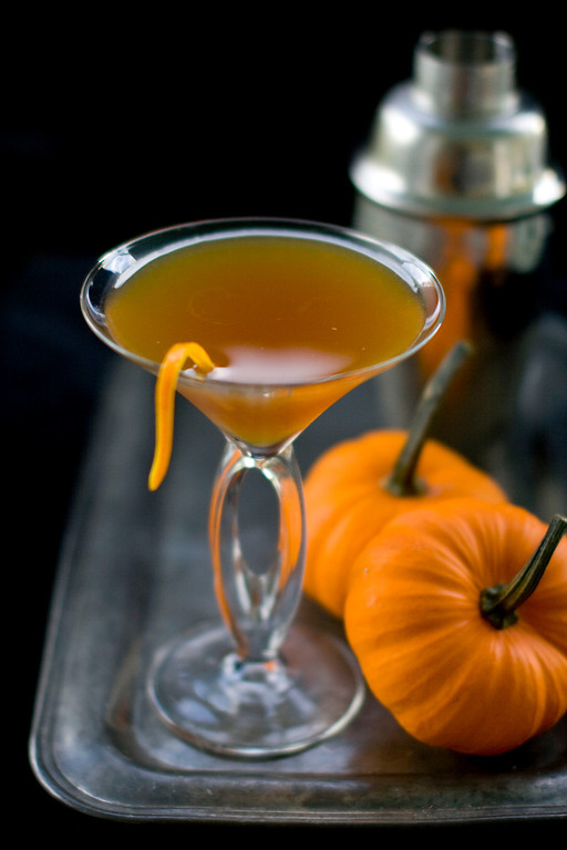 . This Sept. 28, 2011 photo shows pumpkin pie punch in Concord, N.H. This drink\'s blend of spices, apple cider and ginger ale is delicious and rich, yet still refreshing.   (AP Photo/Matthew Mead)