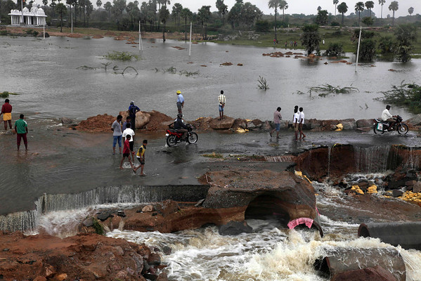 Photos: Flooding, heavy rain hits India