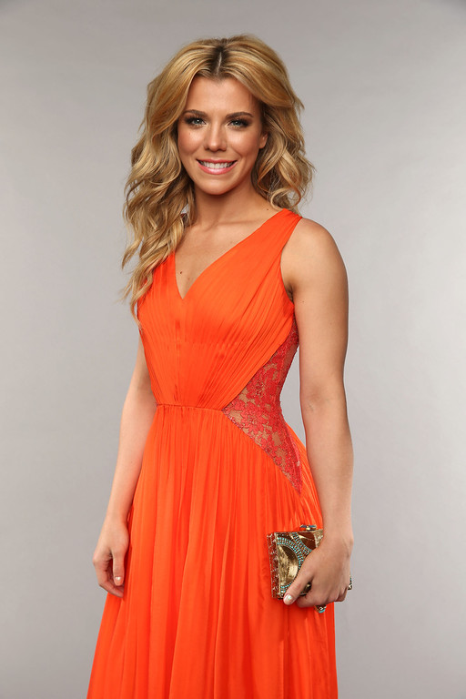 . NASHVILLE, TN - JUNE 05:  Kimberly Perry of The Band Perry poses at the Wonderwall portrait studio during the 2013 CMT Music Awards at Bridgestone Arena on June 5, 2013 in Nashville, Tennessee.  (Photo by Christopher Polk/Getty Images for Wonderwall)