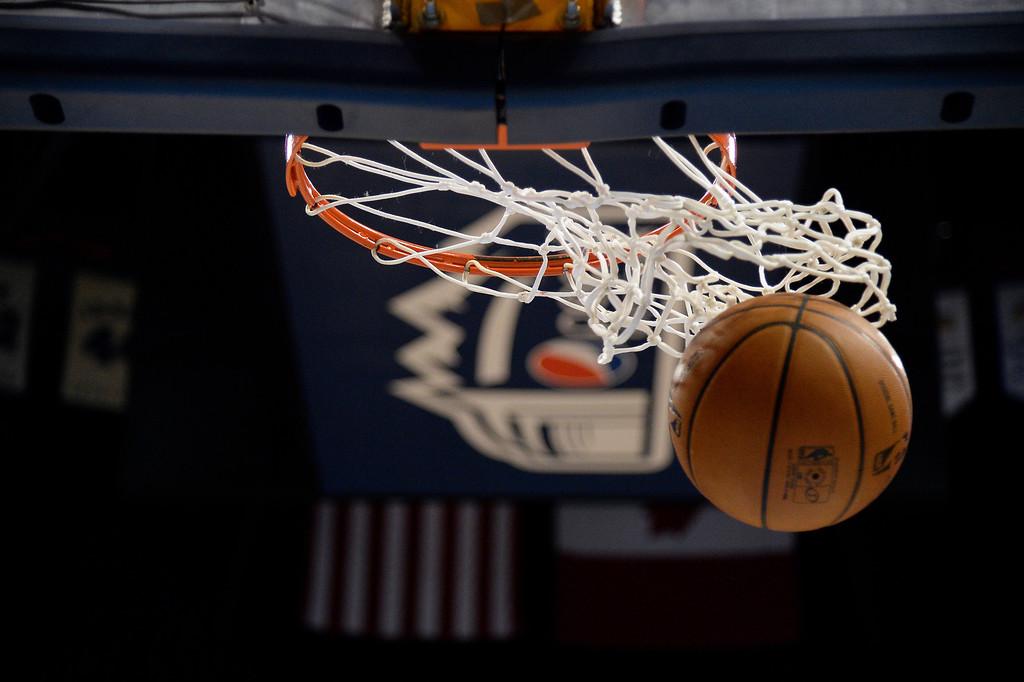 . The Denver Nuggets take on the Oklahoma City Thunder January 9, 2014 at Pepsi Center. (Photo by John Leyba/The Denver Post)