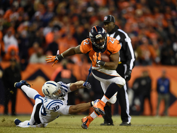 PHOTOS: Colts overpower Broncos, 24-13 in NFL Divisional Playoffs