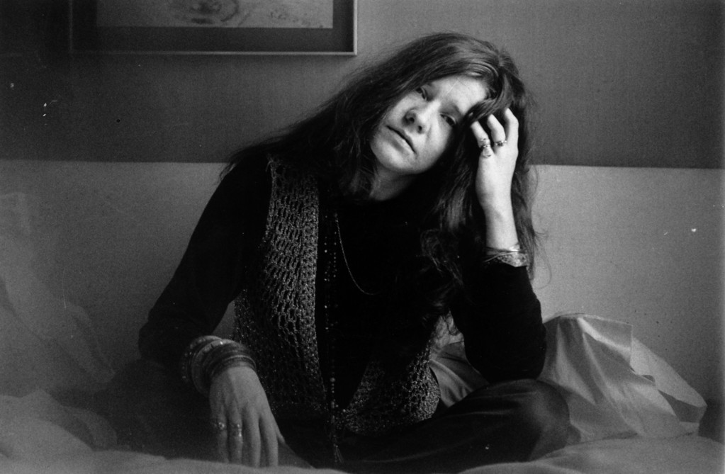. 5th April 1969:  Rock singer Janis Joplin (1943 - 1970).  (Photo by Evening Standard/Getty Images)