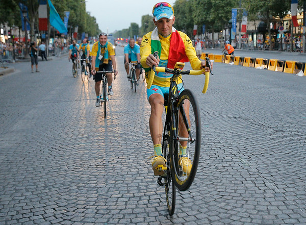 PHOTOS: Italy's Vincenzo Nibali wins Tour de France