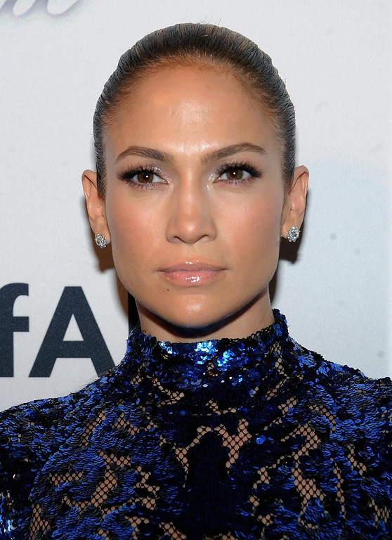 . Actress Jennifer Lopez attends the amfAR Inspiration Gala at the The Plaza Hotel on Thursday, June 13, 2013 in New York. (Photo by Brad Barketv/Invision/AP)