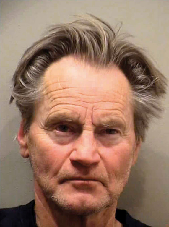 . In this photo released by the Normal Police Department in Normal, Ill. via The Pantagraph on Saturday, Jan. 3, 2009, is shown actor and playwright Sam Shepard. Police say Shepard has been arrested in central Illinois on preliminary charges of speeding and drunken driving. Normal Police Lt. Mark Kotte says Shepard was stopped by police around 2 a.m. Saturday in Normal. The 65-year-old Shepard was driving a Chevy Blazer 16 mph over the 30-mph speed limit when he was pulled over. Kotte says the vehicle went up onto the curb and Shepard appeared intoxicated to officers. (AP Photo/Normal Police Department via The Pantagraph)
