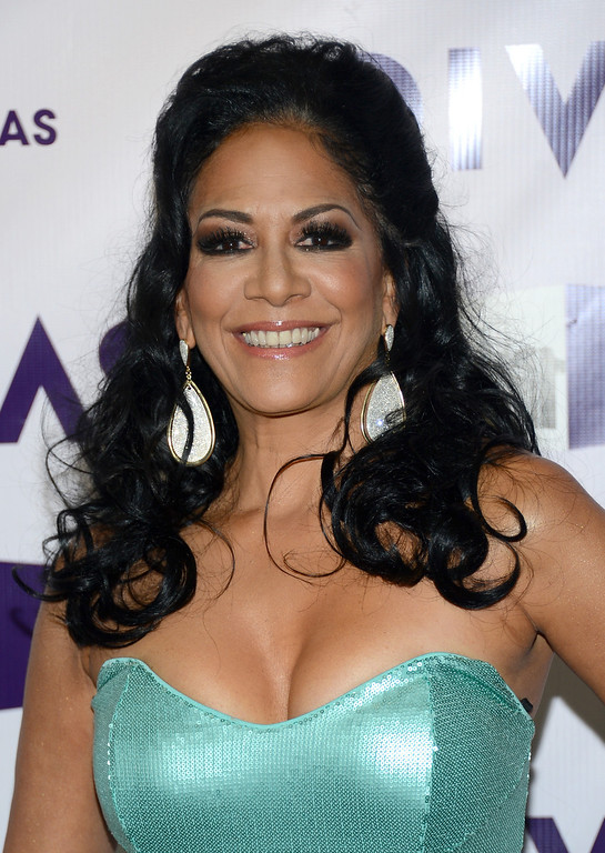 ". LOS ANGELES, CA - DECEMBER 16:  Singer Sheila E. attends ""VH1 Divas\"" 2012 at The Shrine Auditorium on December 16, 2012 in Los Angeles, California.  (Photo by Michael Buckner/Getty Images)"