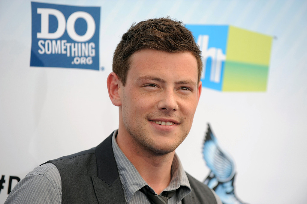 """. This Aug. 19, 2012 file photo shows actor Cory Monteith at the 2012 Do Something awards in Santa Monica, Calif.  Monteith, who shot to fame in the hit TV series \""""Glee\"""" but was beset by addiction struggles so fierce that he once said he was lucky to be alive, died July 13, 2013 after an overdose of heroin and alcohol. He was 31. (Photo by Jordan Strauss/Invision/AP)"""