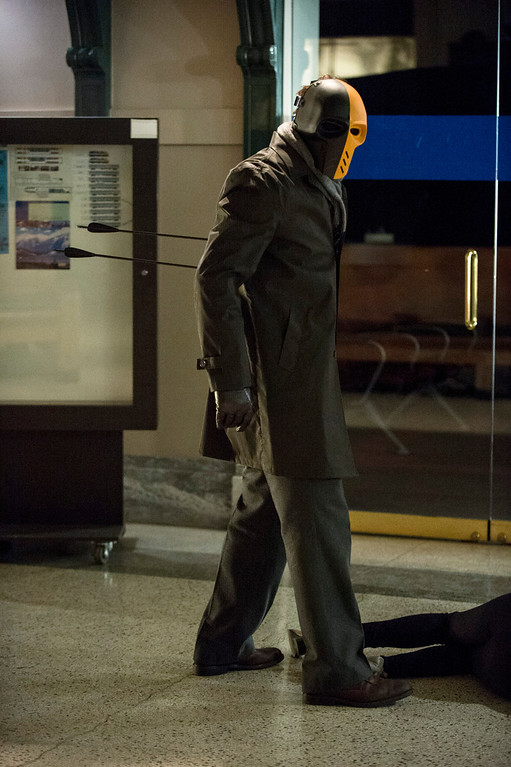 ". Mirakuru Soldier in The CW\'s ""Arrow.\""  (Photo by Cate Cameron/The CW -- © 2014 The CW Network, LLC. All Rights Reserved.)"