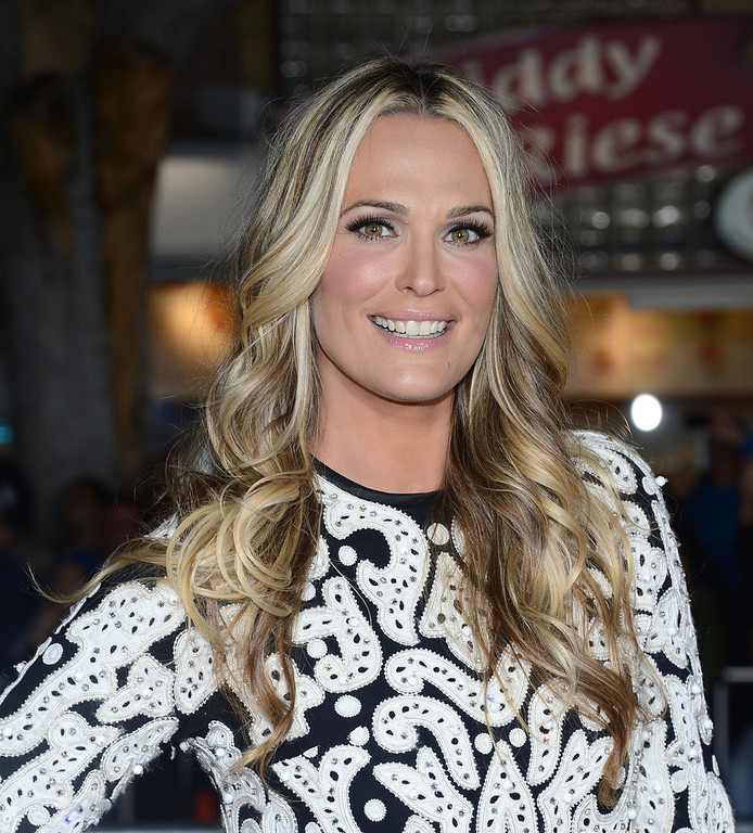 """. Model Molly Sims attends the Premiere Of Universal Pictures\' \""""Identity Theft\"""" on February 4, 2013 in Westwood, California.  (Photo by Jason Kempin/Getty Images)"""
