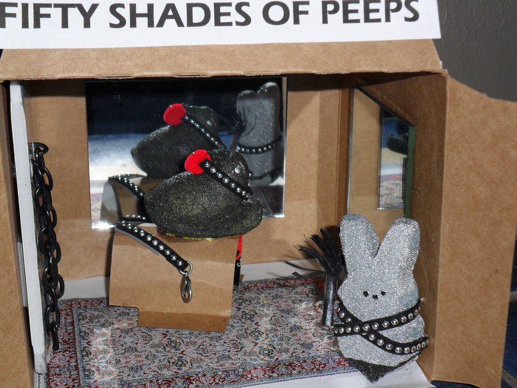 . Fifty Shades of Peeps. Lita Jaye Hunt,  Age 50