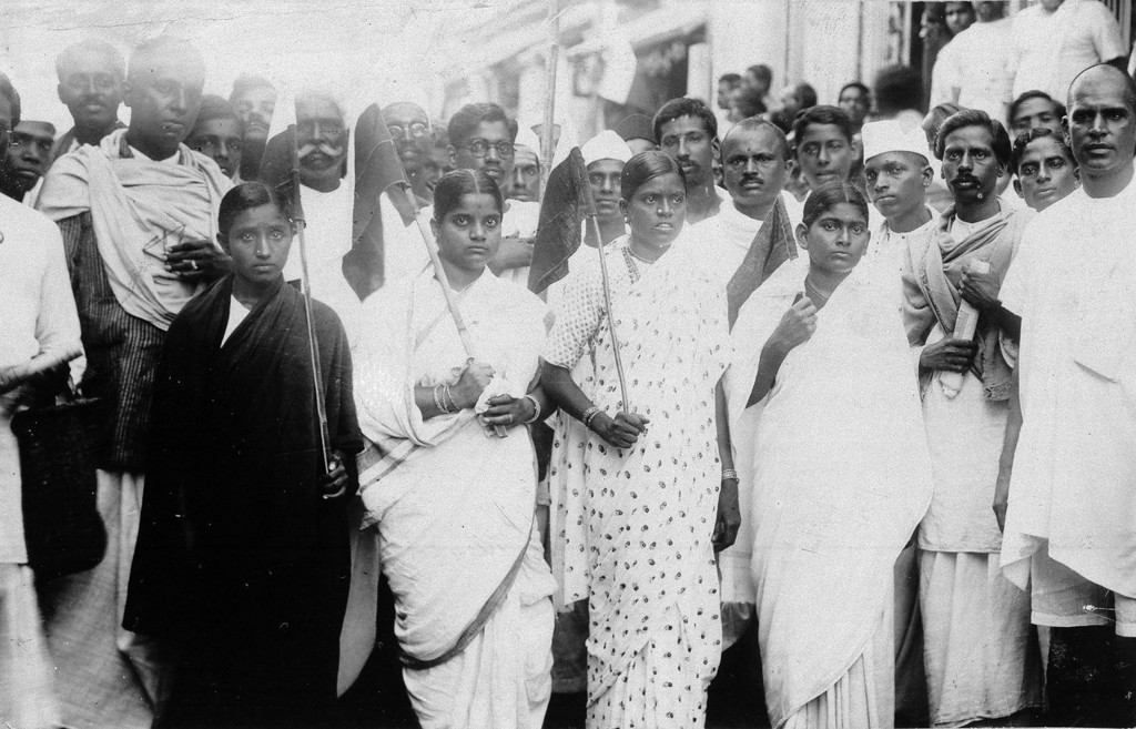 . Women are playing a large role in the disobedience campaign being carried on against the British in India as shown during a demonstration in Madras, May 9, 1930, before Gandhi was arrested. (AP Photo)
