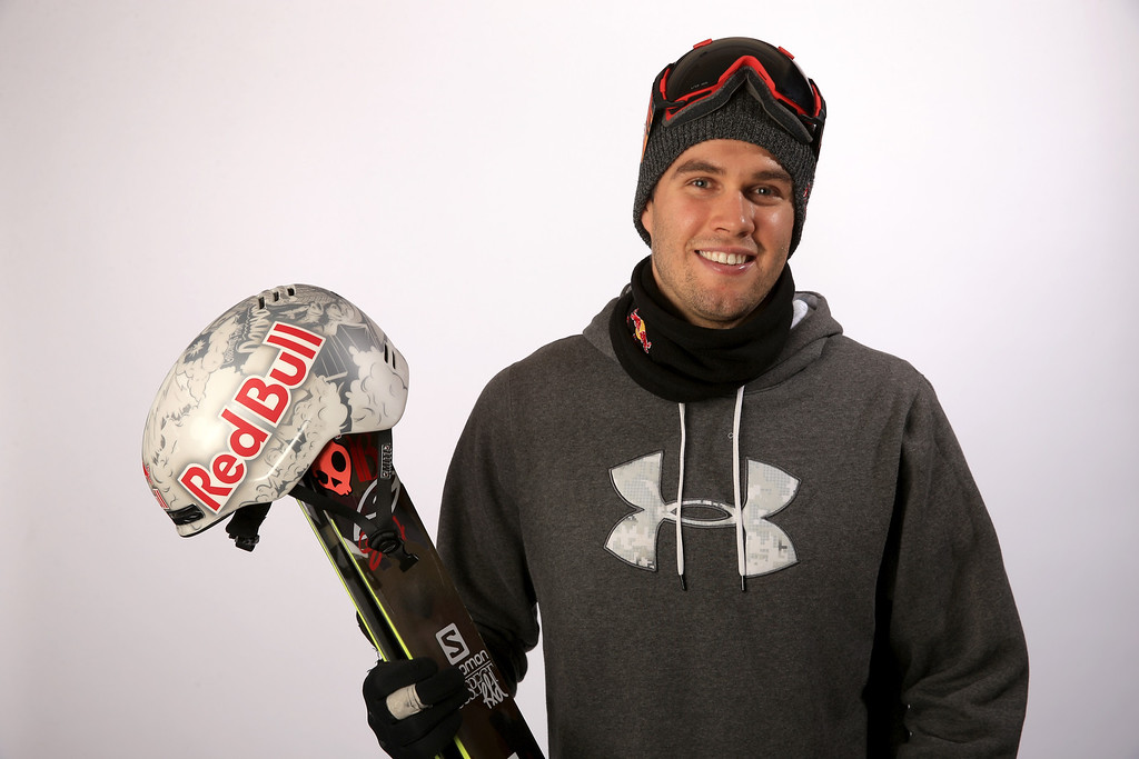 . Freestyle Skier Bobby Brown poses for a portrait during the USOC Media Summit ahead of the Sochi 2014 Winter Olympics on October 1, 2013 in Park City, Utah.  (Photo by Doug Pensinger/Getty Images)